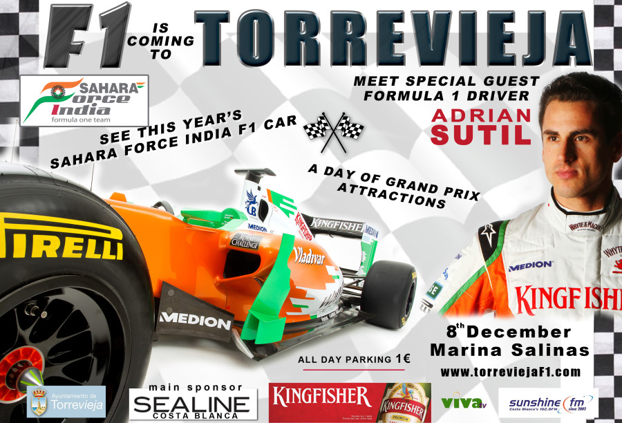 Formula 1 is coming to Torrevieja