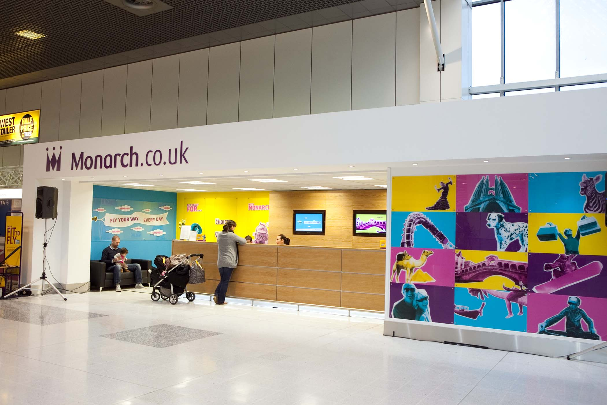 Monarch Introduces Airport Customer Experience Hosts