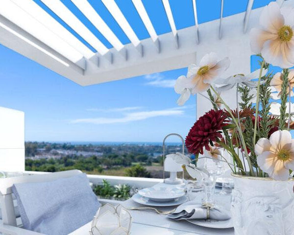 Spacious penthouses can easily accommodate working from home