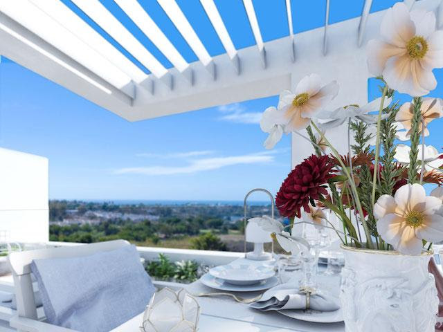 Taylor Wimpey España is offering a range of key-ready penthouses for sale
