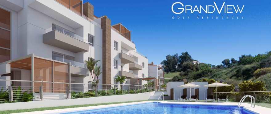 GrandView: 2 and 3 bedroom apartments for sale in La Cala Golf Resort, Mijas