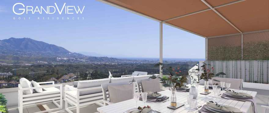 GrandView, new apartments with panoramic golf views