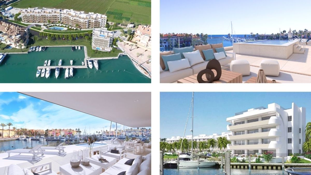 Pier apartments in Sotogrande Marina