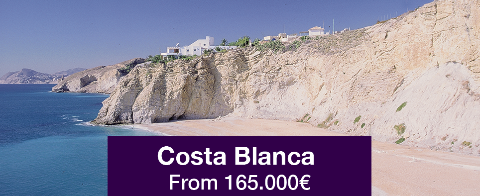 Costa Blanca from 165.000€