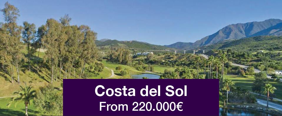 Costa del Sol from 220.000€