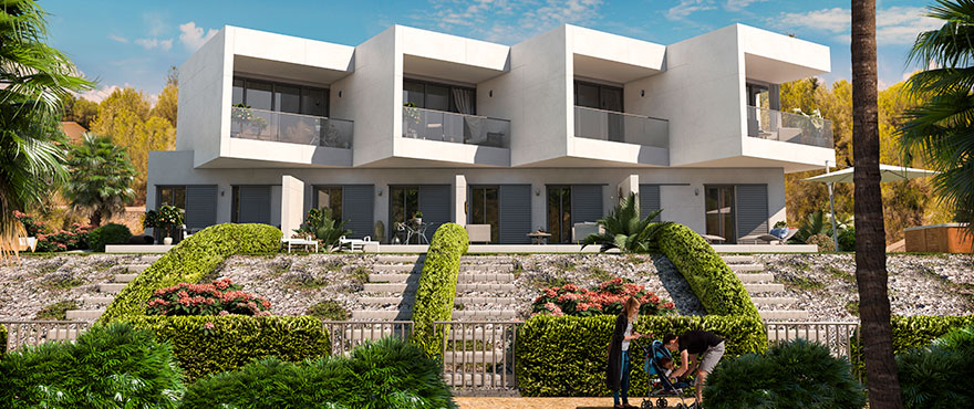 See view townhouses for sale in Cala Murada, Malllorca