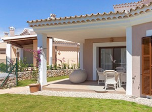 Sunny terraces in new townhouses and villas, Santa Ponsa