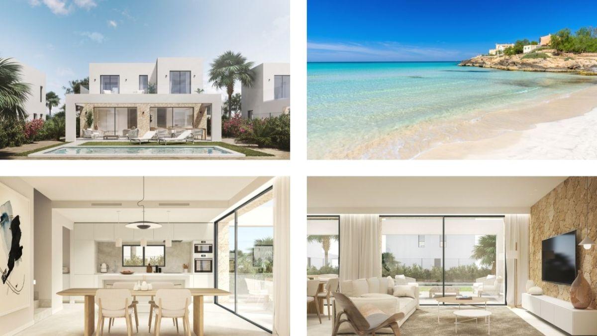 3 bedroom villas for sale in the exclusive residential complex of Dalt de Sa Rápita