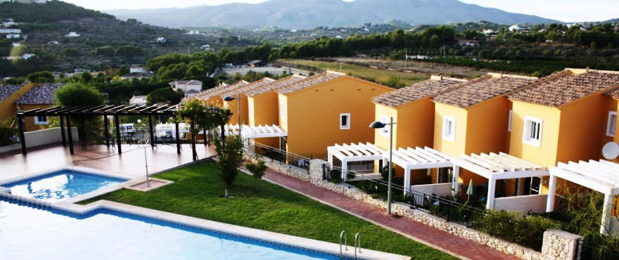Views from Calpesol townhouses, Costa Blanca