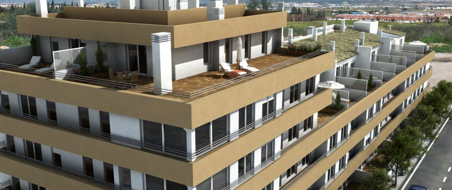 New apartments for sale in a unique building, 1 and 2 bedrooms properties in the center of Palma de Mallorca. Taylor Wimpey's quality standards