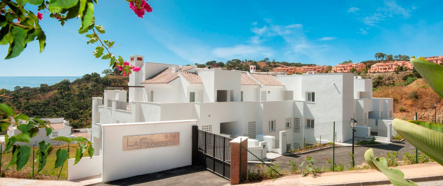 New development of 2 and 3 bedroom apartments for sale in La Floresta Sur, one of the best locations in Costa del Sol