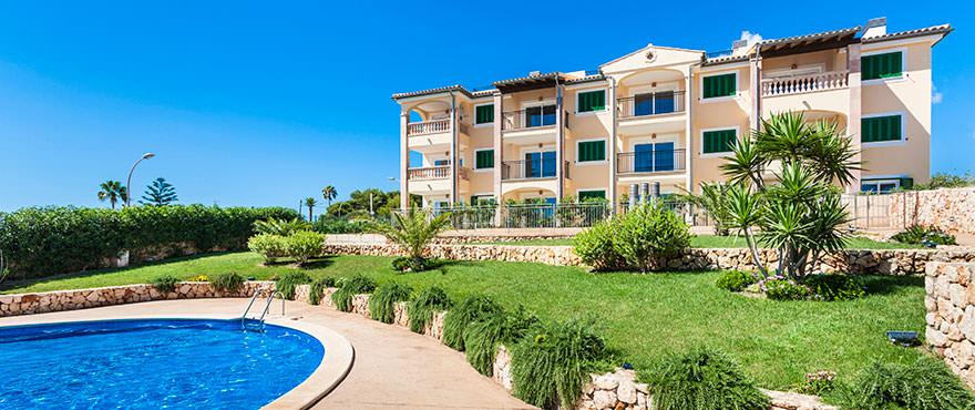 Exterior pool, Cala Magrana III, Mallorca