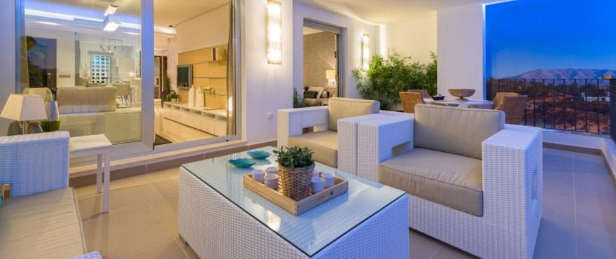 La Floresta Sur apartments for sale: Spacious terrace, communal garden and swimming pool