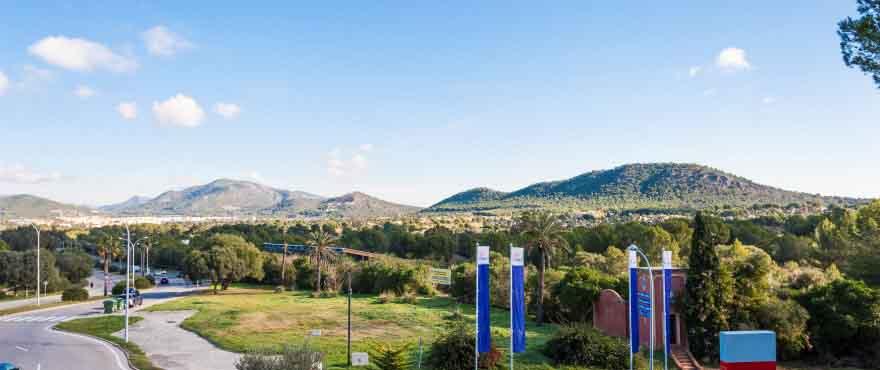 Вид снаружи, Санта-Понса, Мальорка