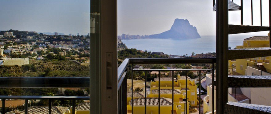 New houses for sale in Calpe, Taylor Wimpey's private residential Montesol: Views
