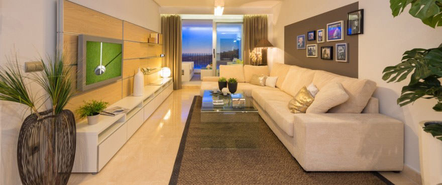 La Floresta Sur apartments for sale: Living room