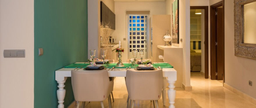 La Floresta Sur apartments: Kitchen with quality finishes, Italian design and Silestone