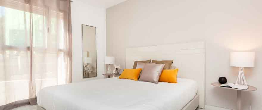 Bedroom. Spanish house for sale Taylor Wimpey Spain