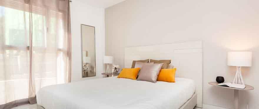 Lichte en rustige slaapkamer