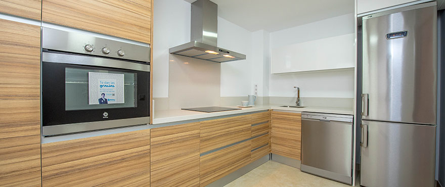 Townhouses in Elche, Alicante: Kitchen
