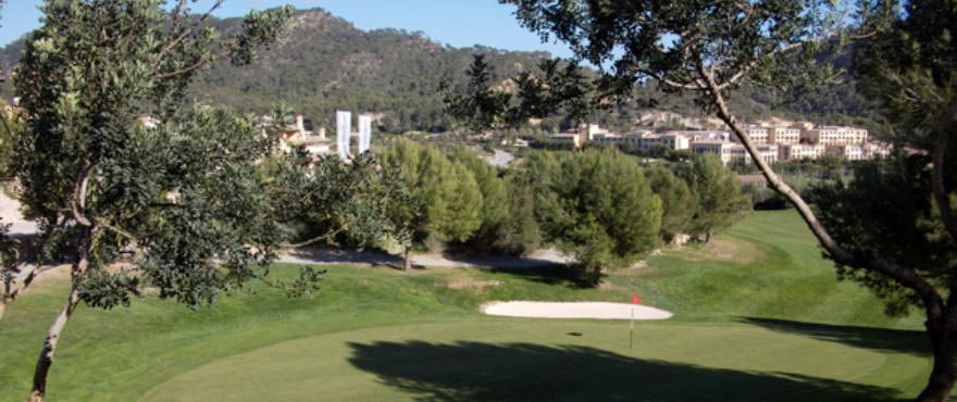 Golf course in Andratx near Camp de Mar Beach complex