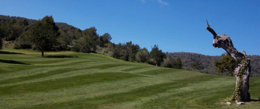Campo de golf de Andratx donde se situa el complejo residencial Camp de Mar Beach