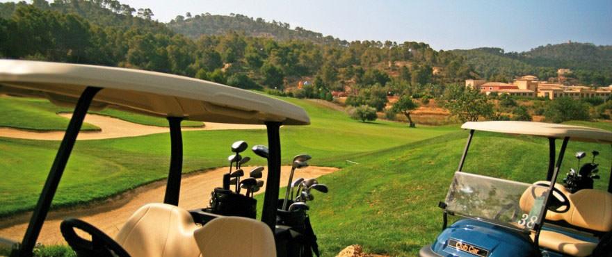 Golfbaan in Andratx vlakbij het complex Camp de Mar Beach