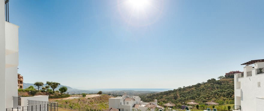 La Floresta Sur apartments: located near the village of Elviria