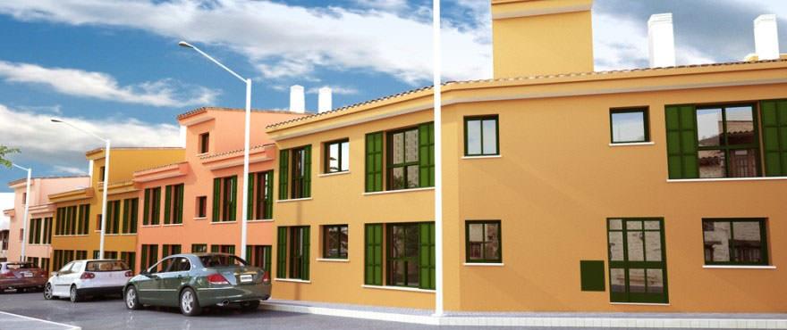 Exterior facade view of Sa Torre, Portol