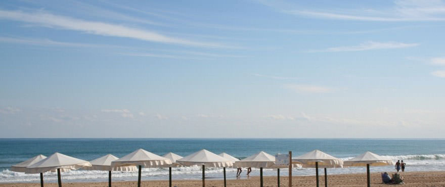 Spiaggia a Torrevieja vicina a La Recoleta, Costa Blanca