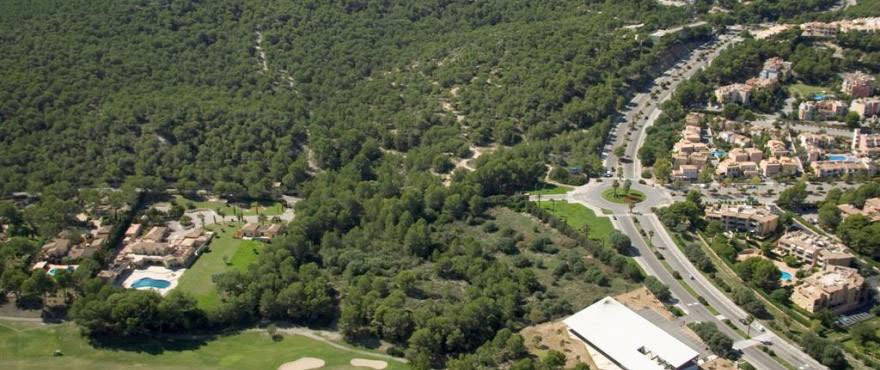 Over view of the area Santa Ponsa