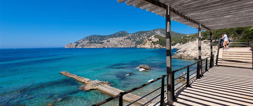 Camp de Mar Beach, Puerto Andratx, Mallorca, Spain