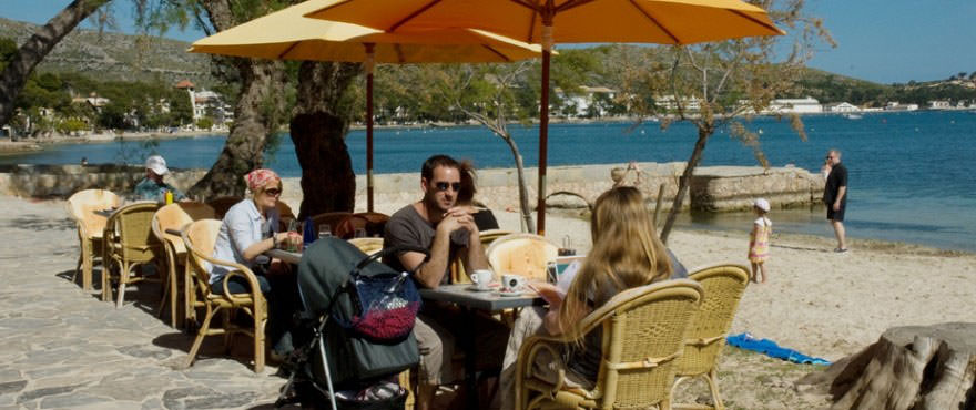 Restaurante en el paseo maritimo de Puerto Pollensa