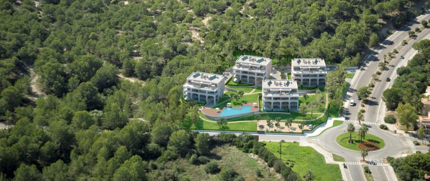 Oversiktsbilde, Santa Ponsa, Mallorca