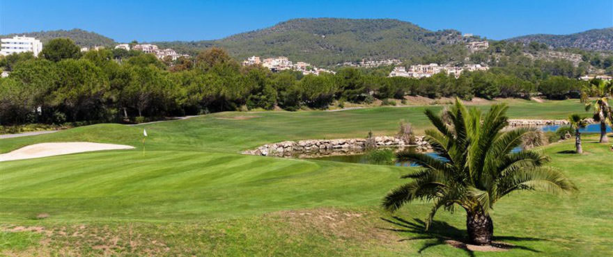 "Golfclub ""Golf de Andratx"" in Camp de Mar, Mallorca"