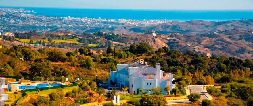 Fastigheter i Spanien: Nyutveckling av 2 och 3-rums lägenheter till salu i La Floresta Sur, en av de bästa platserna på Costa del Sol