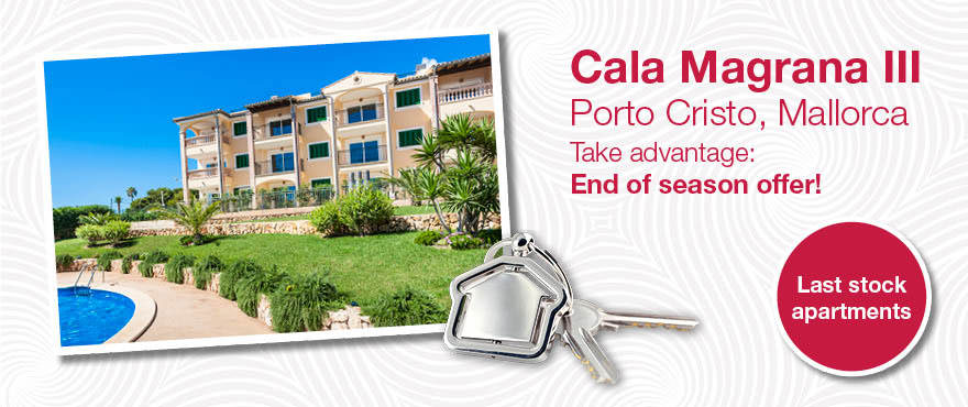 apartment offer, Cala Magrana
