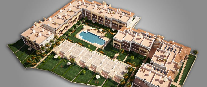 Residential Costa Beach: apartment and townhouses for sale