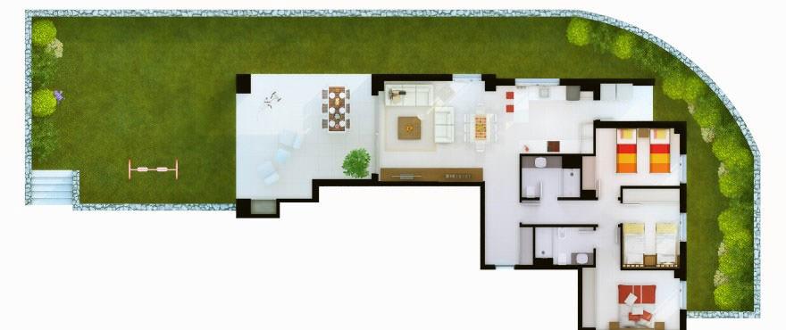 3 sovrum Santa Ponsa
