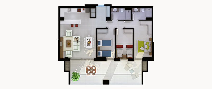 Santa Ponsa 3 dormitorios