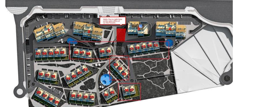 La Vila paradis appartements et maisons mitoyennes