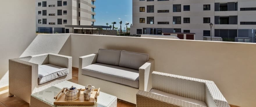 La Recoleta III Apartments for sale, Punta Prima, Torrevieja, Costa Blanca