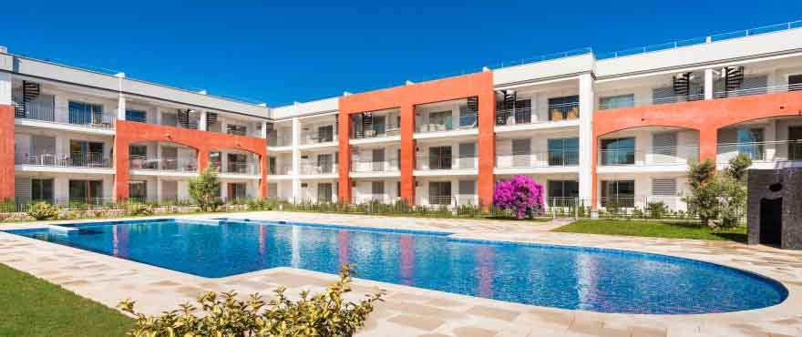 Apartments with swimming pool in Mallorca