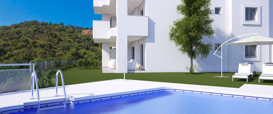 La Floresta Sur Apartments im Verkauf: Poolanlage