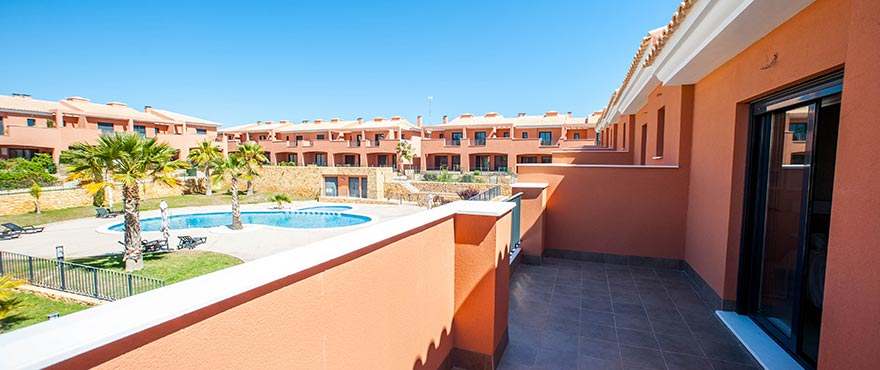 Townhouses in Elche, Alicante: Terrace