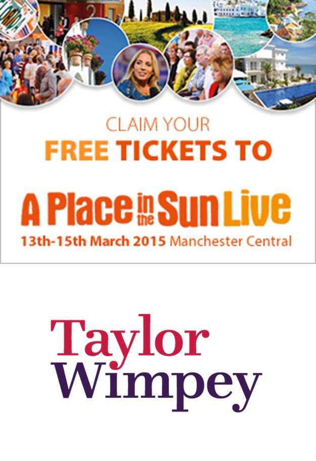 A Place in the Sun - Free Tickets Taylor Wimpey Spain