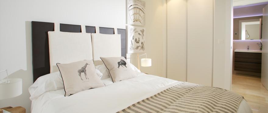 Appartementen te koop, appartementen aan de Costa del Sol, Marbella, Elviria, 2 en 3 slaapkamers, gemeenschappelijke tuin en zwembad