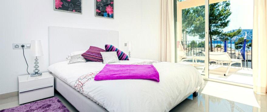Habitation, Camp de Mar Beach, Puerto Andratx, Mallorca, Espana