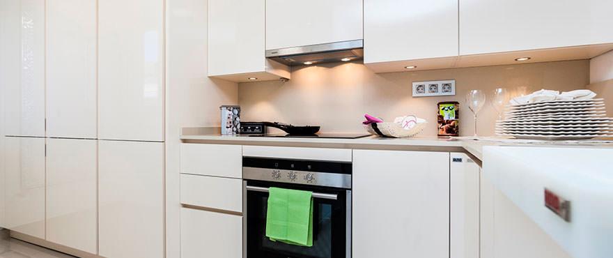 Moderne keuken met kwaliteitsafwerking