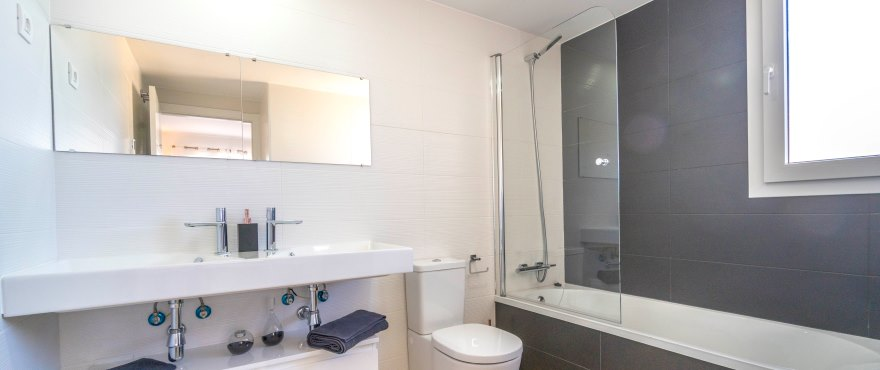 La Recoleta III Apartments, Punta Prima: Bathroom with quality finishes